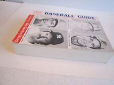 6 VTG BASEBALL GUIDES & MANUALS - '67 BASEBALL RULES,'52 BATTING AVGS - TUB RS
