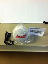 BUDWEISER MINI BLUETOOTH WHITE CONNECTING SPEAKER *NEW*