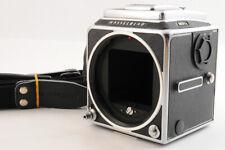 ? Mint ? Hasselblad 503CX Mittelformat Kamera Schwarz Körper + Gurt Aus Japan