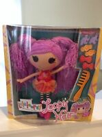 New In Box Lalaloopsy Loopy Hair Peanut Big Top Doll-Hair Clip Accessories
