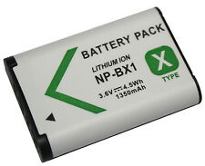 New Battery for Sony Cyber-shot DSC-HX50V/B, DSC-HX60V/B, DSC-HX90V/B Camera