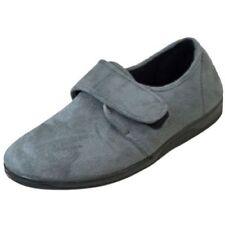 Zapatillas de andar sin marca color principal gris por casa de hombre
