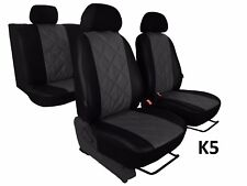 PEUGEOT PARTNER 5x1 2008 ONWARDS ECO LEATHER SEAT COVER MADE TO MEASURE FOR CAR