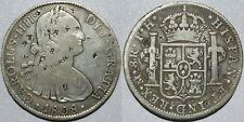 1808 TH Mexico 8 Reales ~ CHOPMARKS ~ Spanish Colonial ~ KM#109 ~ Silver ~ CM11