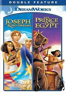 Joseph: King of Dreams / The Prince of Egypt DVD 2-Disc Set 2010 Dreamworks NEW