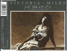 VICTORIA MILES - just the way it is CDM 4TR House 1990 GERMANY
