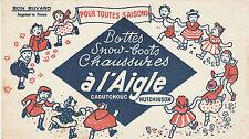 Buvard Vintage  Bottes  Chaussures  à l'Aigle