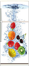 Sticker frigo déco fruits 70x170cm réf 525