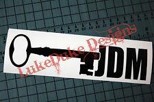 JDM KEY Sticker Decal Vinyl JDM Euro Drift Lowered illest Fatlace Vdub