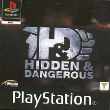 Hidden & Dangerous Playstation 1 Complete with  Manual #1G