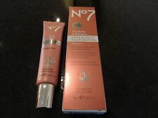 Boots No7 Restore And Renew Face & Neck Multi Action Serum 30ml Tube BNIB BOXED