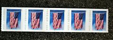 2019USA #5343 Forever U.S. Flag US - PNC Plate Number(#B1111)Coil Strip 5 (BCA)