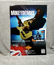 "Skindred ""Mikey Demus"" Rotosound Promo Poster"