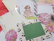 Spring/Nature Themed Stationery Set 15 PCS {Memo Sheets/Stickers/Washi Tape }