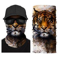 Seamless Face Tube Bandanas Multifunctional Headwear Mask Neck Gaiter, Animal