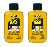 Goo Gone Degreaser Remove Sticker Tar Gum Crayon Cleaning Liquid 3fl oz, 2 Pack