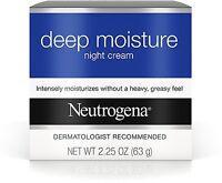 Neutrogena Deep Moisture Night Cream 2.25 oz (Pack of 3)