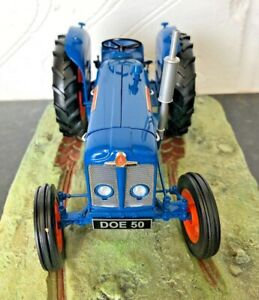 Extremely Rare 1/16 Fordson Super Major Tractor Ernest Doe 50th Anniversary
