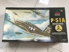 ACCURATE MINIATURES 1/48 P-51A MUSTANG LONG RANGE ESCORT FIGHTER # 3402 F/S RARE