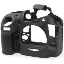 easyCover Protective Silicon Skin Camera Cover f/ Nikon D800 D800E Camera- Black
