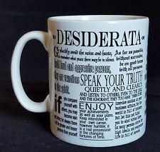 Desiderata poem Mug