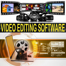 PROFESSIONAL VIDEO EDITING SOFTWARE MOVIE STUDIO FULL COMPLETE SOFTWARE PROGRAM