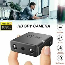 HD 1080P Mini Spy Hidden Camera Security Cam DVR IR Cut Motion Detection TF Card