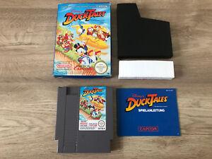 Nintendo (NES) - Disney DuckTales mit OVP & Anleitung