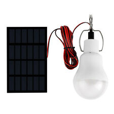 Solar Power LED Bulb Lamp Outdoor Camping Fishing Lighting Tent Light Protable