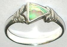 925 Silber Perlmutt Ring Ringgröße 60  ca.19 mm