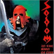 "SODOM ""IN THE SIGN OF EVIL/OBSESSED BY CRUELTY"" CD NEUWARE"