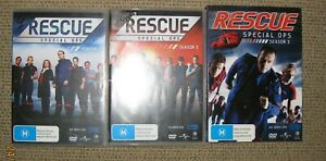 Rescue Special Ops - Complete Series 1-3 DVD (xx discs) - VGC
