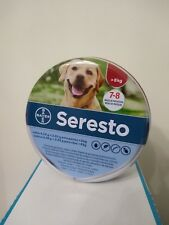 Seresto¹collar perro grande +8kg pulgas garrapatas flea tick treatment 8 meses
