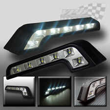 x2 Daytime running lights universal fit DRL LED white light front