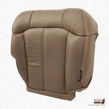 2001 2002 GMC Sierra 2500 2500HD Front Passenger Bottom Seat Cover Vinyl Med Tan