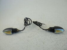 Suzuki SV650 SV 650 #7534 Universal Turn Signals / Indicator Lights (A)