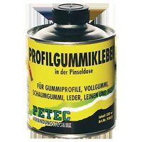 Petec Profilgummikleber 350 ml Pinseldose Gummikleber Klebstoff 93835
