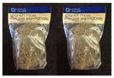 FLORAL SPANISH MOSS for Artificial Arrangements - 125 Cu. In. - LOT (2) - NEW!!!