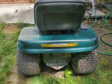 lawn mower, tractor, Craftsman, Green