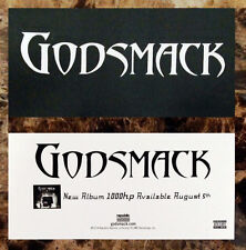 GODSMACK 1000HP Ltd Ed Discontinued RARE Sticker +FREE Hard Rock/Metal Stickers!