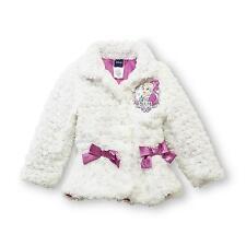 Nwt Disney's Frozen *Elsa* Princess Faux-Fur Coat Jacket Shirt Dress size 4