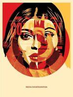 2016 Media Target Shepard Fairey S/N Art Print Poster Obey Giant Kylie Jenner