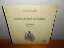 Witold Malcuzynski . 3 Polonaises / 8 Mazurkas . Chopin Near Mint . Record LP
