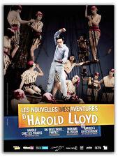 Affiche Pliée 120x160cm LES NOUVELLES (MÉS)AVENTURES D'HAROLD LLOYD 1917 R2014