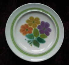 Franciscan FLORAL Bread & Butter Plates - Set of 6 - FREE U.S. SHIPPING