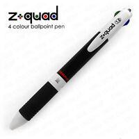 """Zebra Z-Quad - Four Colour """"4 in 1"""" Retractable Ballpoint Pen - 1.0mm - Single"""