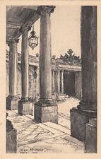 NANCY palais du gouvernement dessin de J. WEISMANN