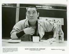 TAKESHI KITANO MERRY CHRISTMAS MR LAWRENCE 1983 VINTAGE PHOTO ORIGINAL #2