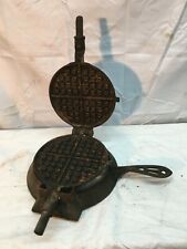 GRISWOLD CAST IRON AMERICAN NO.7 WAFFLE MAKER PAT. June 29 1880