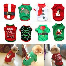 Pets Fancy Jumpsuit Christmas Dog Costumes Clothes Apparel for Puppy Dogs Cats。
